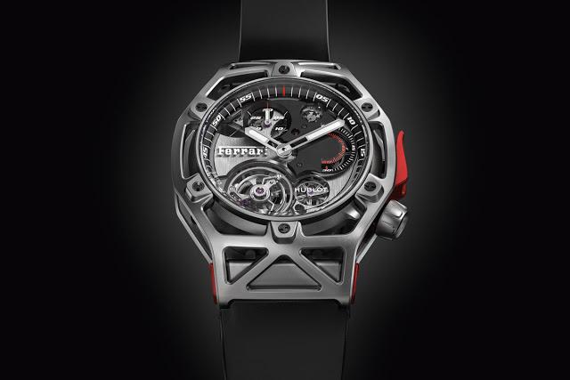 Дизайн от Ferrari, механизм - от Hublot