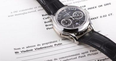 """Аукцион Antiquorum продаст """"часы Путина"""" стоимостью до 1,5 млн. евро"""