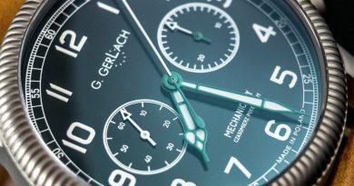 Винтажный пилотский хронограф от G. Gerlach