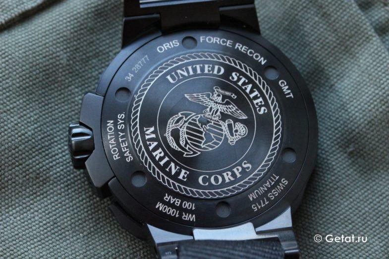 "Oris ProDiver Force Recon GMT - обзор лимитки ""морских котиков"""