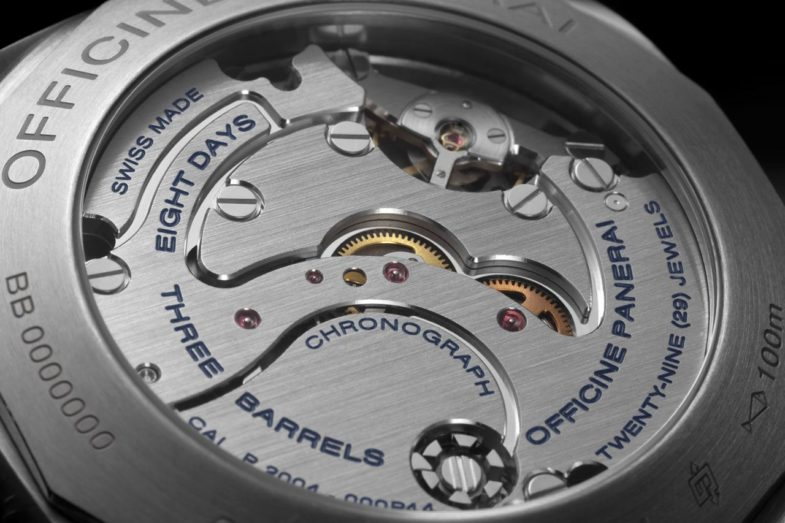 Luminor 1950 Chrono Monopulsante 8 Days GMT Titanio (PAM00737)