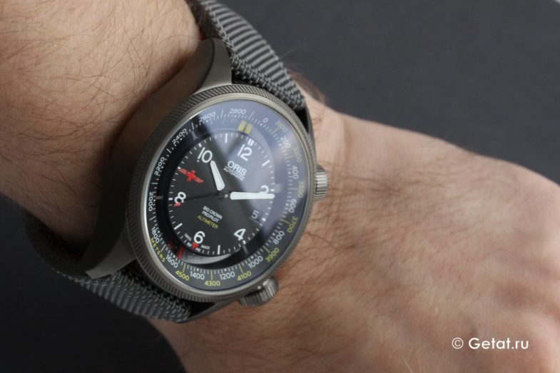 Oris Big Crown ProPilot Altimeter Rega LE