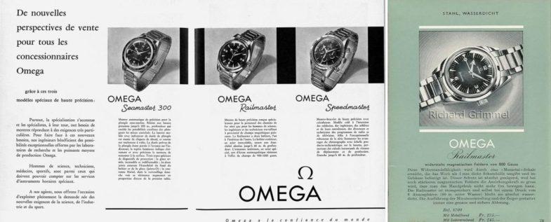 История и модельный ряд Omega Railmaster