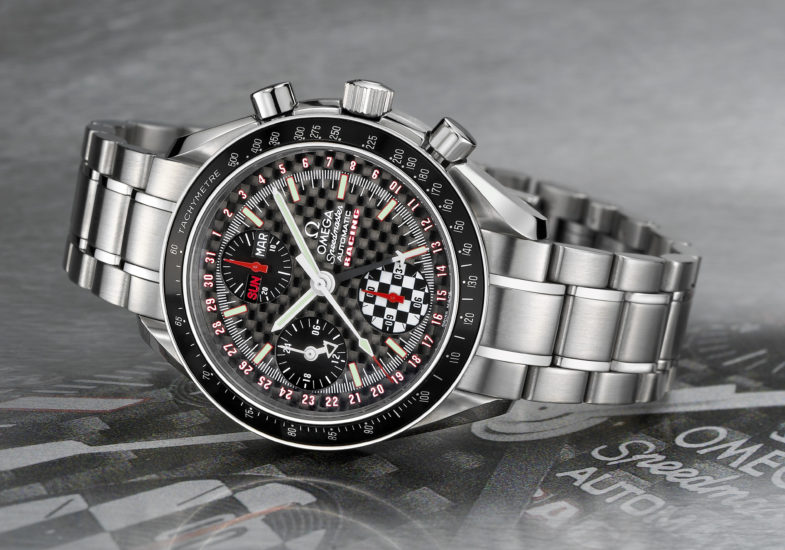 Michael Schumacher Omega Speedmaster: настоящий гоночный винтаж. Историческая справка