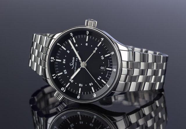 Sinn The Frankfurt World Time Watch 6096 - часы для трейдеров