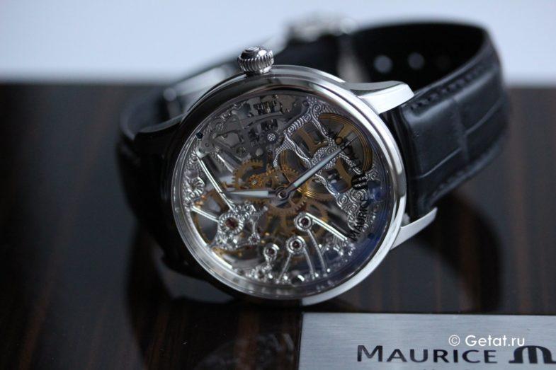 Обзор роскошных скелетонов Maurice Lacroix Masterpiece