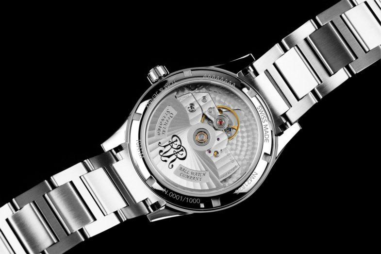 Новые часы на новом калибре от Ball