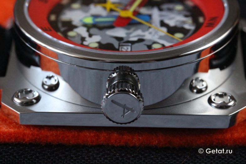 Обзор часов Achtung Classic Camo Red