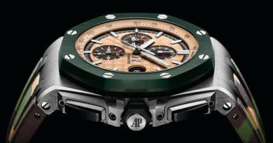 Новинки Audemars Piguet в линейке Royal Oak Offshore Chronograph