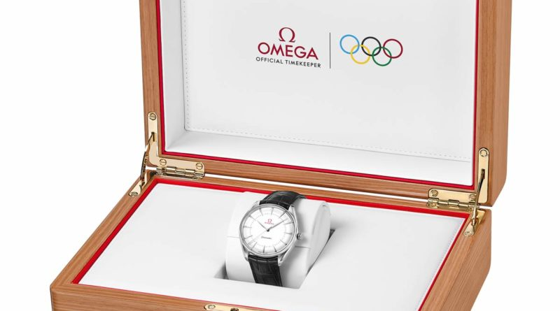 Золотая олимпийская серия от Omega
