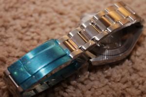 Очередные часы дайверы от Parnis: Milgauss style