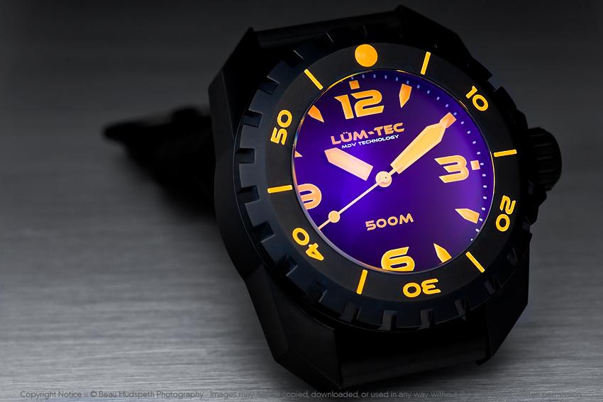 LUM-TEC: самые яркие часы