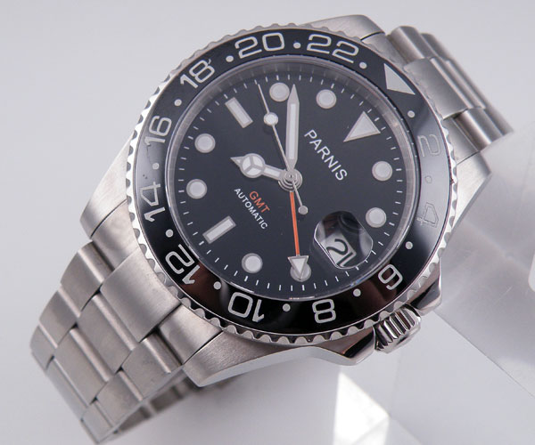 Parnis GMT Sea Orange