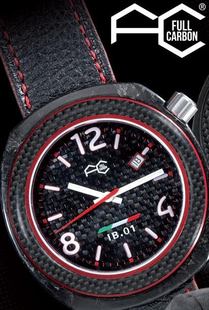 Часы из карбона. Full Carbon