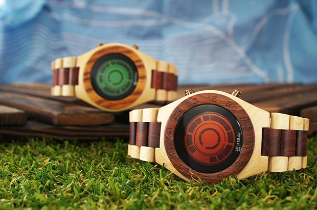 Часы из дерева Kisai Rogue Wood