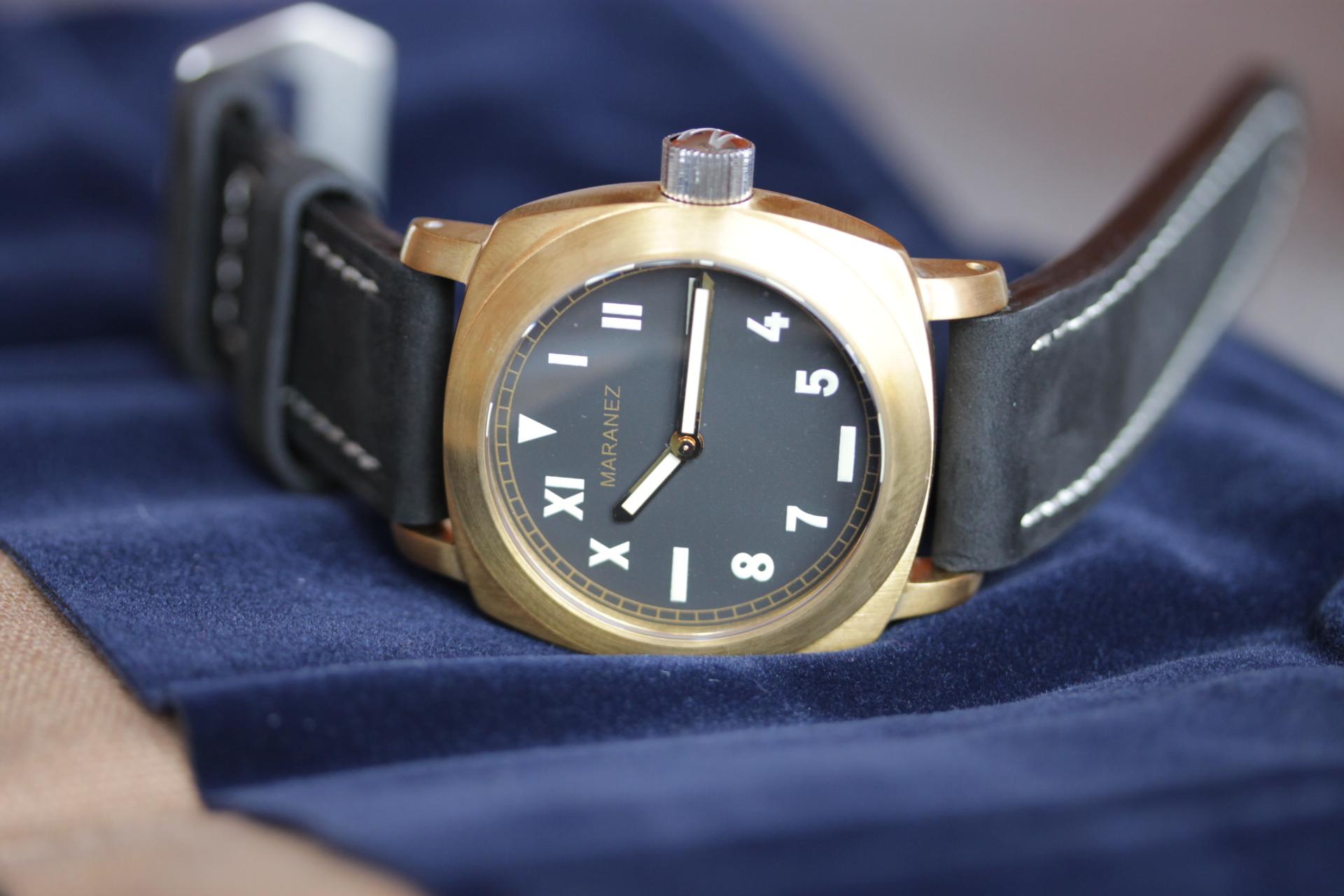Обзор часов с корпусом из бронзы Maranez Layan. Итоговый