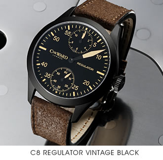 Christopher Ward C8 Regulator: уже в сентябре!