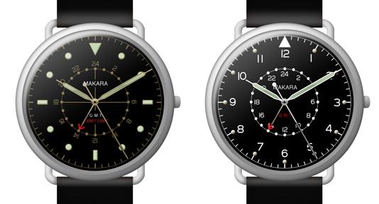Часы Makara