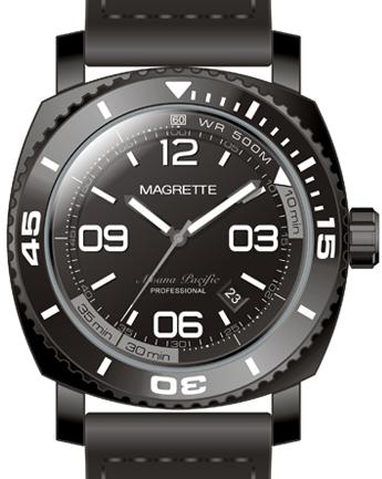 Черный Magrette
