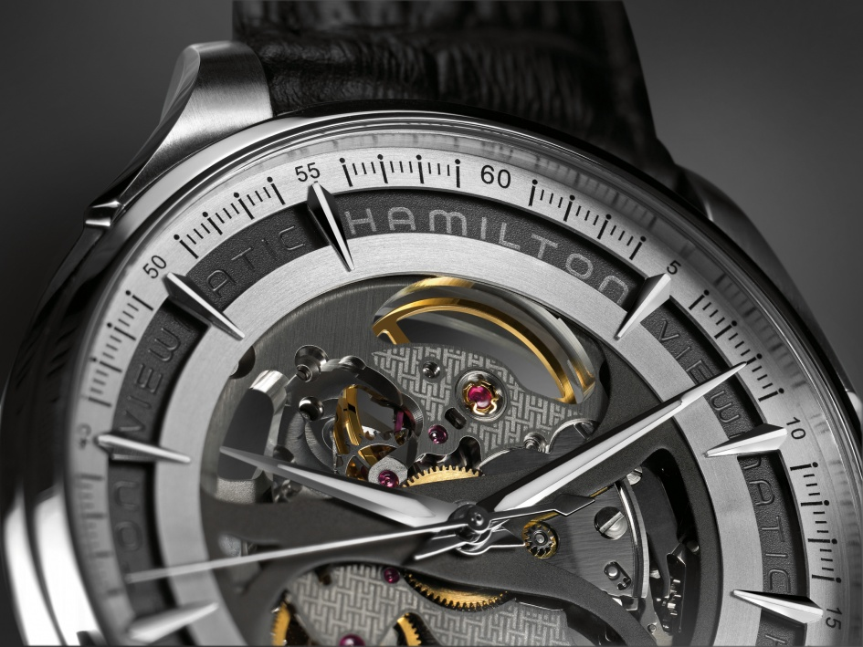 New: Hamilton Jazzmaster Viewmatic Skeleton