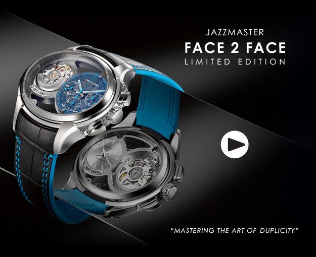 Hamilton Jazzmaster Face 2 Face