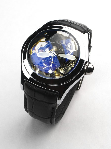 tao international skeleton bubble watch