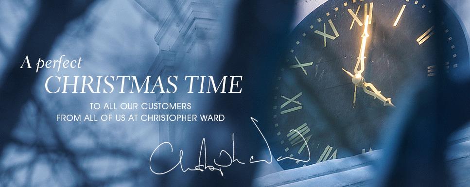Распродажа от Christopher Ward: скидка до 50%