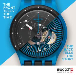 Swatch Sistem 51: революция уже в магазинах!