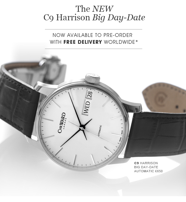 C9 Harrison Big Day-Date Automatic