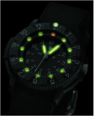 Военные часы/Тритий