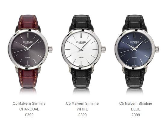 Самые тонкие часы Christopher Ward