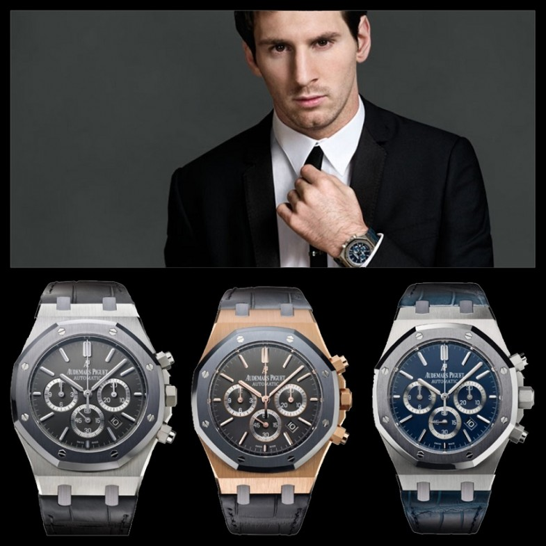 Audemars-Piguet-Royal-Oak-Leo-Messi-Chronograph
