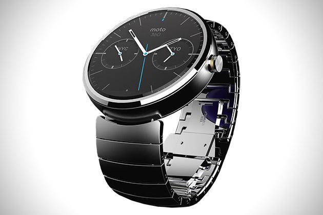 Motorola 360: первые красивые умные часы