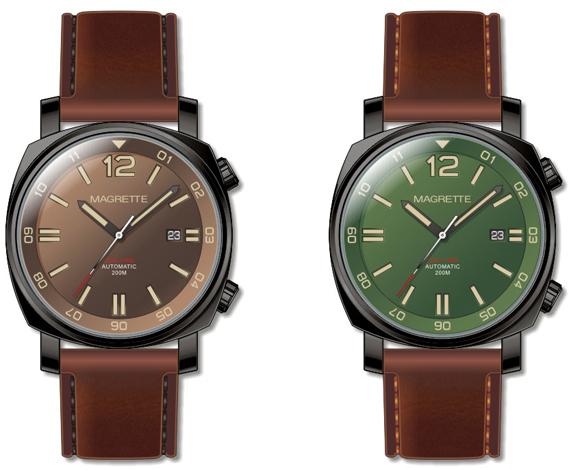 magrette dual time часы