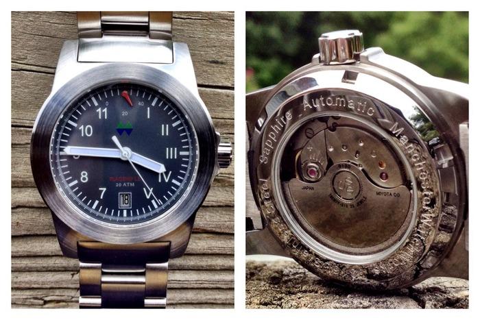 Часы от Manchester Watch Works на Kickstarter