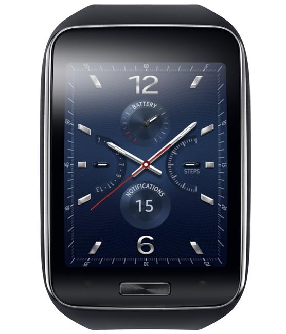 Samsung представил смарт-часы Gear S
