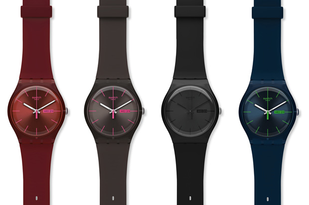 Swatch разрабатывает собственные смарт часы