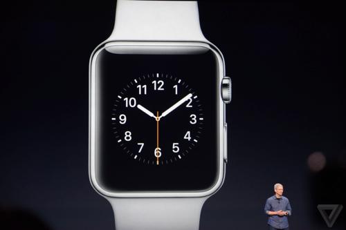 Apple представила свои умные часы - Apple Watch