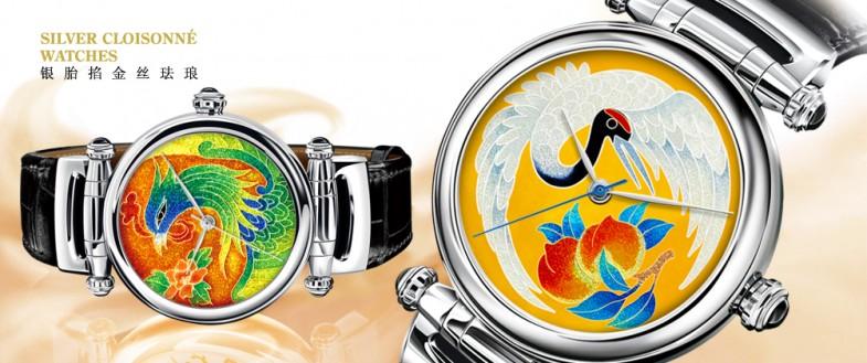 Koncise - китайские часы с эмалевыми циферблатами