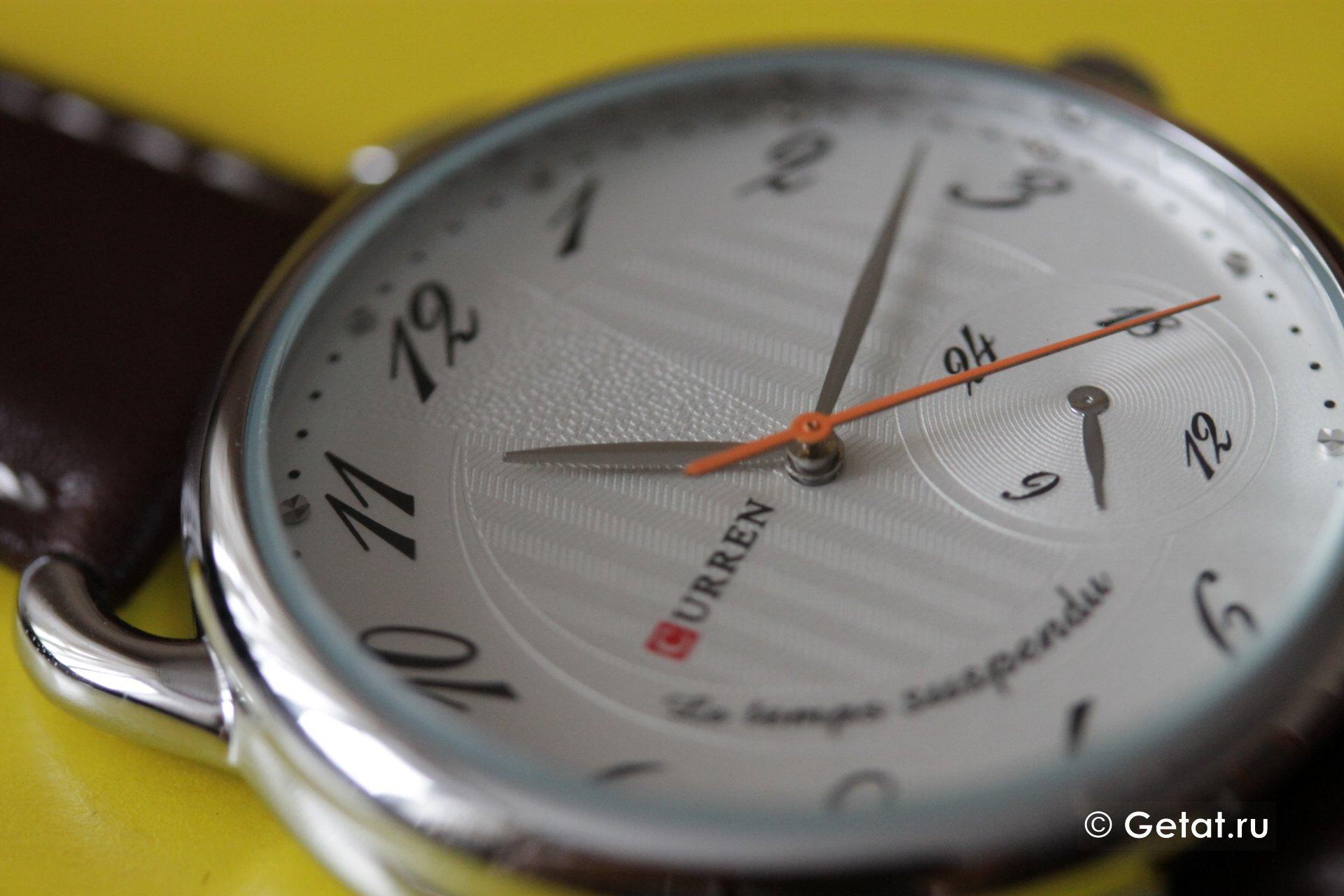 Обзор дешевых китайских часов Curren