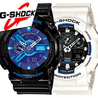 Casio G-Shock GA-100 и GA-110