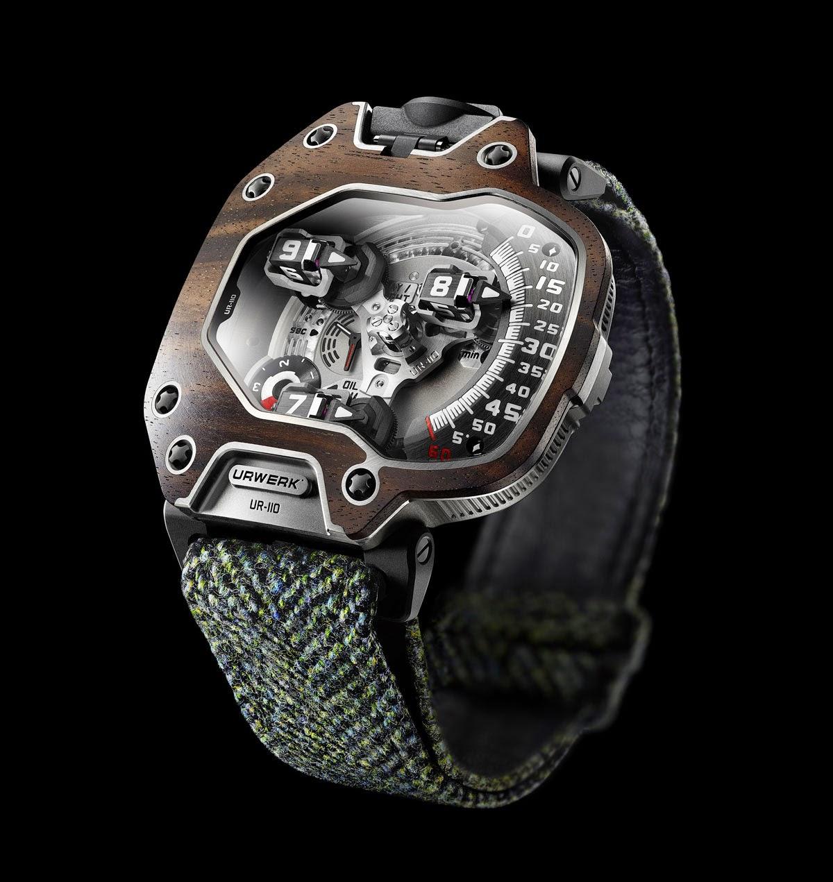 Urwerk UR-110 EastWood — часы для богатых джентльменов