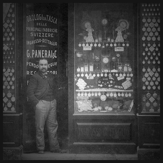 Джованни Панераи открывает часовой магазин во Флоренции, на мосту Понте-алле-Грацие. Фото с официального сайта Panerai
