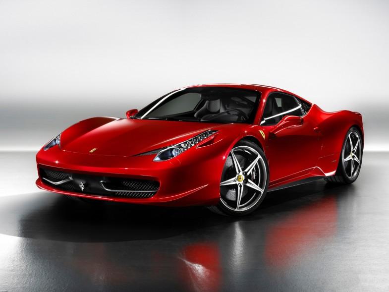 Современная Ferrari