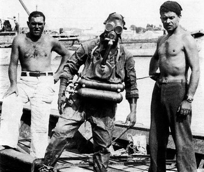Итальянские подводники-диверсанты