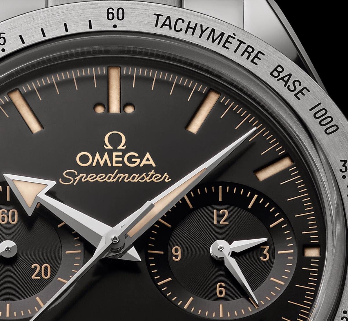 Новая Omega Speedmaster '57
