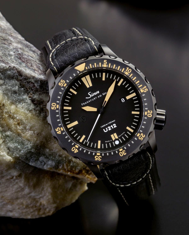 Sinn U212 SE — особенные часы