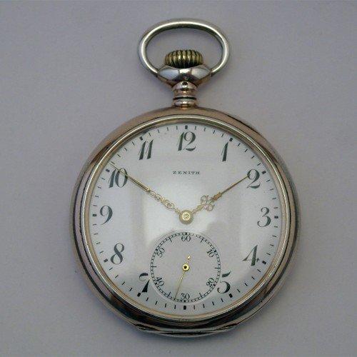 Карманные часы Zenith (1917 год). Ценовая категория - до 200 евро