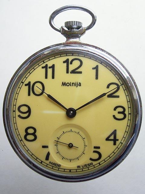 Часы Молния 1980 года. Ценовая категория до 50 евро.