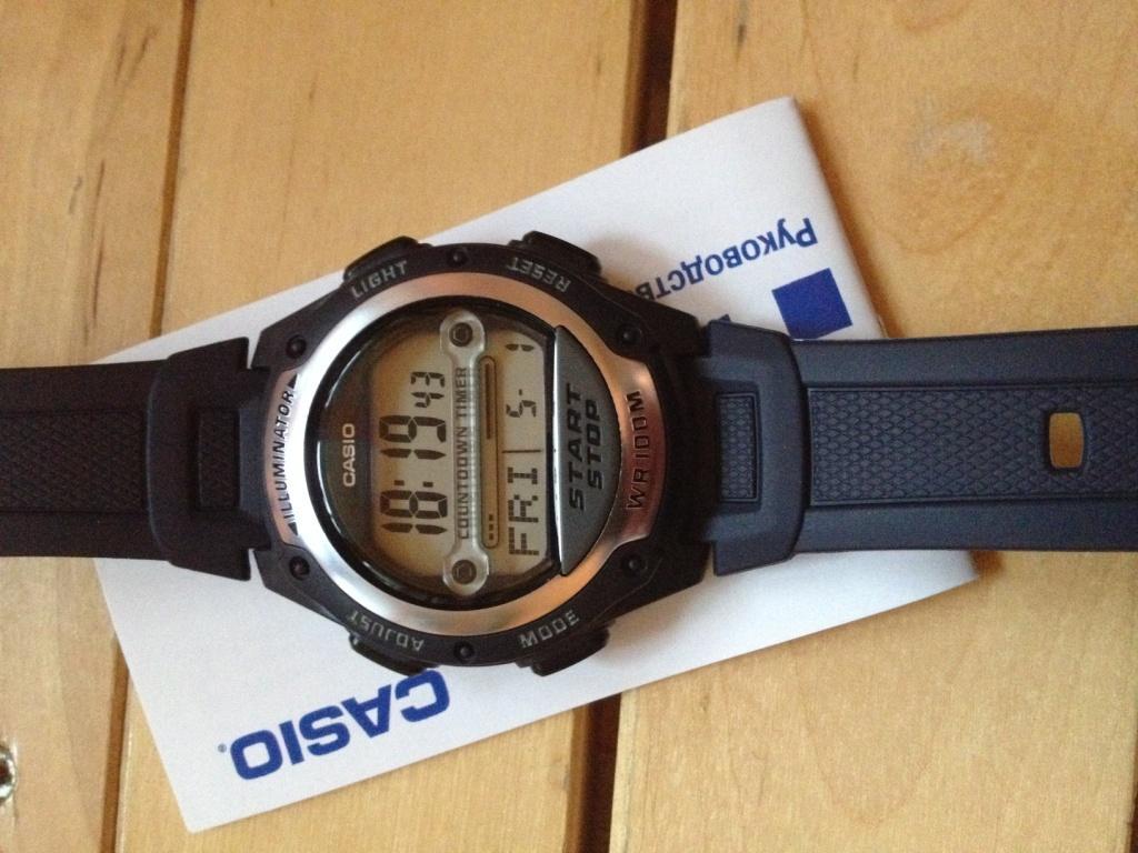 Casio W-756. Первый взгляд